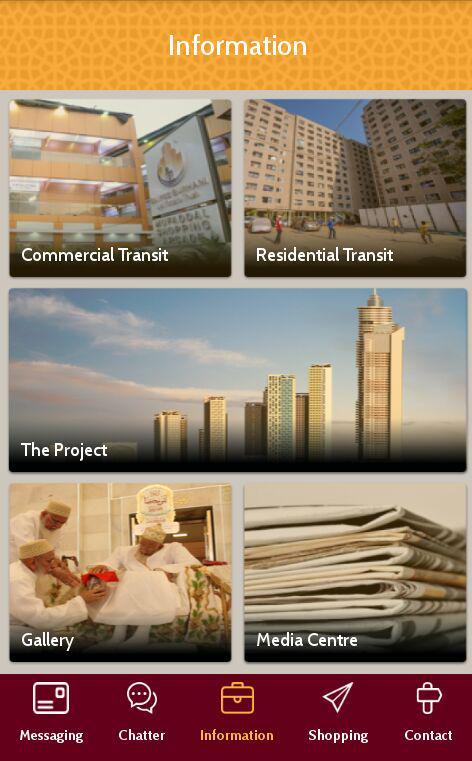 Saifee Burhani Upliftment Trust mobile app